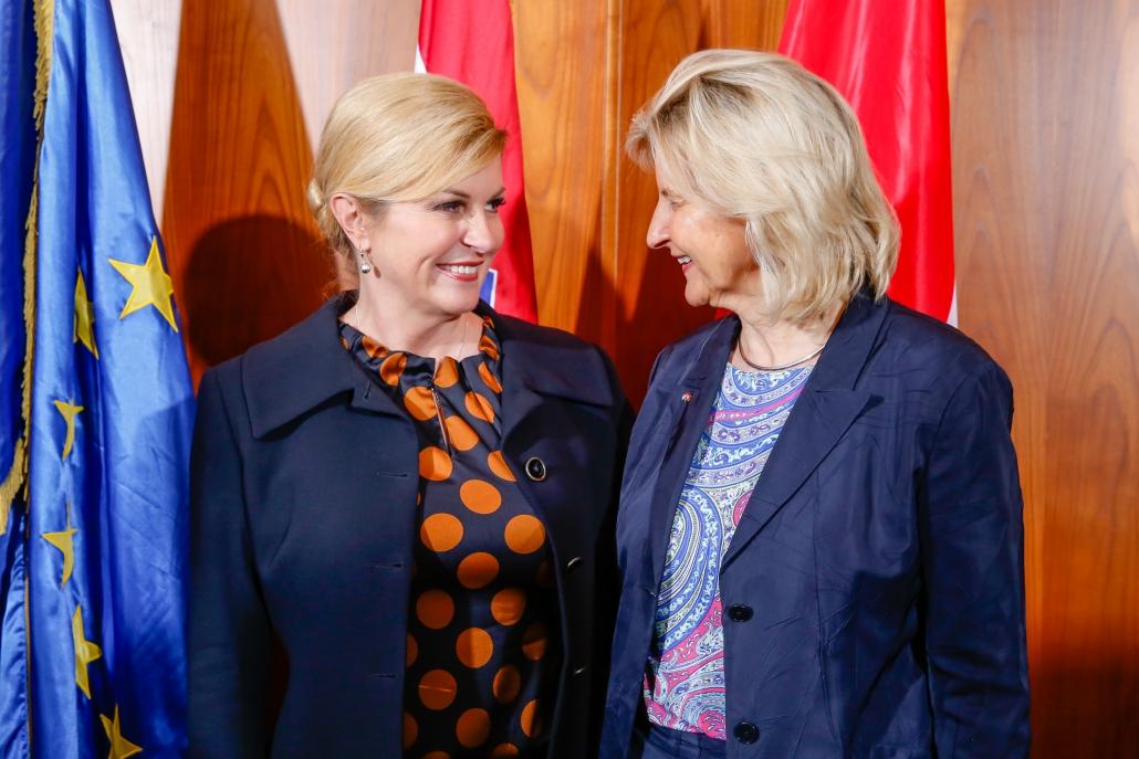 Meet & Greet Her Excellency Kolinda Grabar-Kitarović